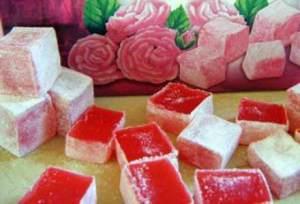 розов локум