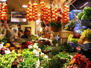 хипермаркет плодове