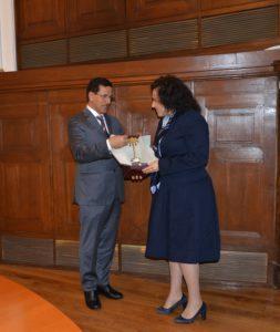 Д. Танева и Ал Мансури