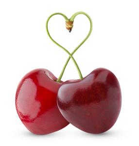 Heart-shaped sweet cherry